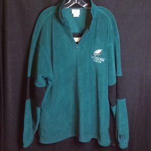 90's Philadelphia Eagles NFL FLEECE Jacket